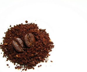 Ground Coffee Beans And Clever Things