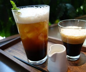 Alcoholic coffee drinks – mix caffeine and alcohol